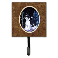 Starry Night Portuguese Water Dog Leash Holder and Wall Hook by Caroline's Treasures