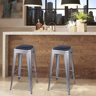 Kody 30 Bar Stool (Set of 2) by 17 Stories