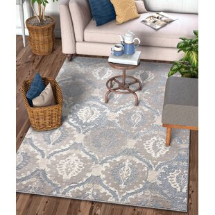 Compare & Buy Emmett Vintage Blue/Gray Area Rug By House of Hampton