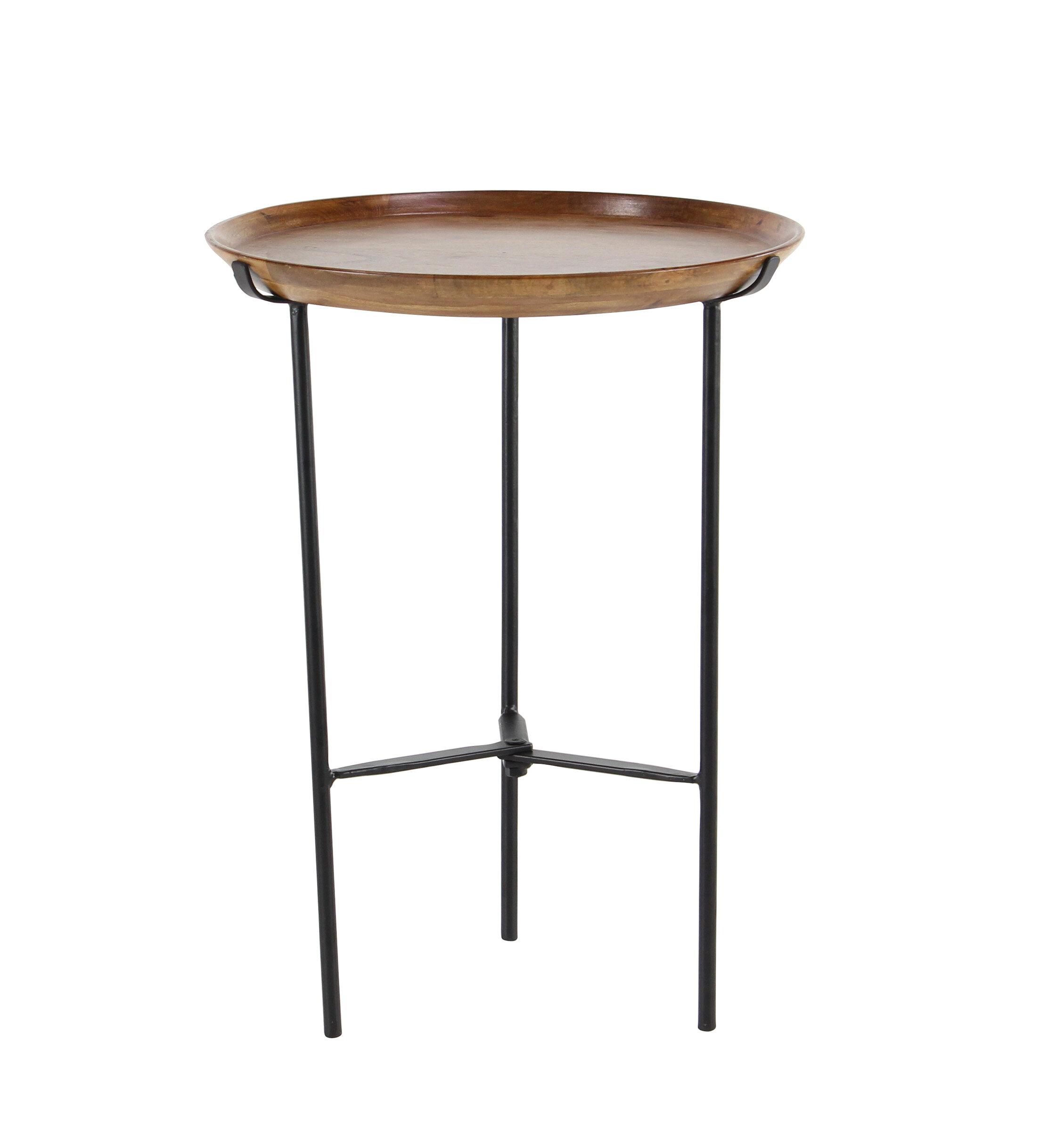 rustic round end table. Rustic Round End Table