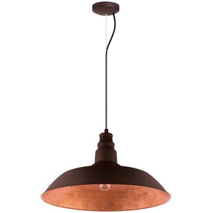 Union Rustic Wagner 1-Light Inverted Pendant