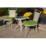 Venezia 3 Piece Bistro Set with Cushions
