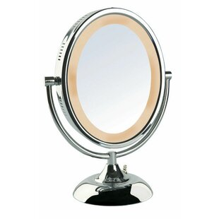 Find a Halo Lighted Vanity Mirror By Symple Stuff