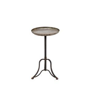 Hazel Metal End Table by W..