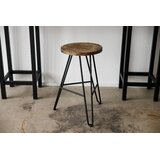 Tokarz Solid Wood 24 Counter Stool by Foundry Select