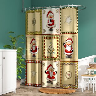 Americana Holiday Single Shower Curtain
