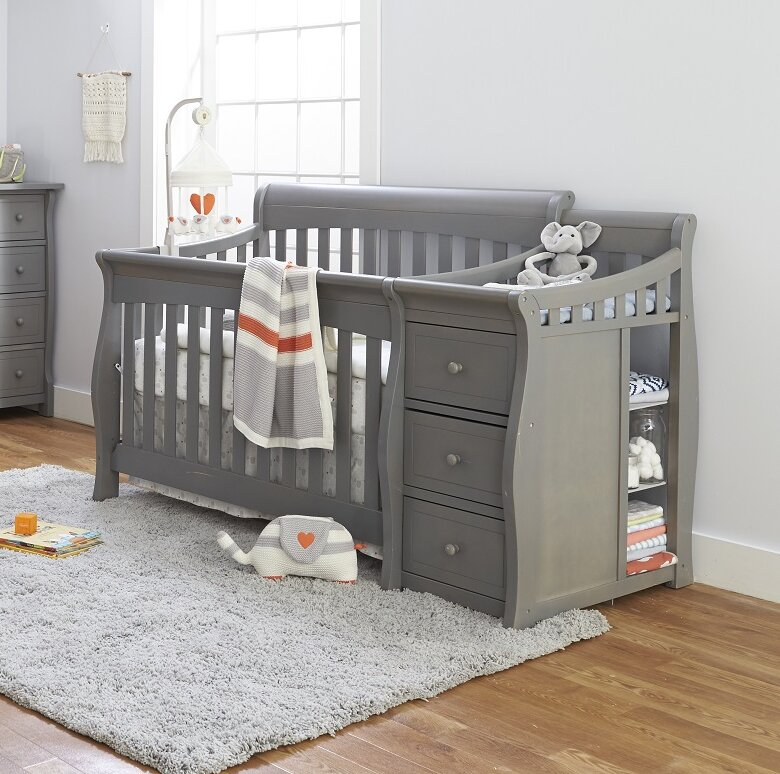 Sorelle Princeton Elite 4 In 1 Convertible Crib And