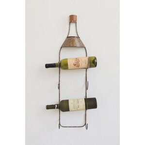 4 Bottle Tabletop Wine Rack by Charlton Home