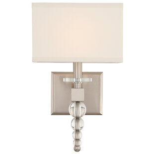 Gehlert 1-Light Armed Sconce by Everly Quinn