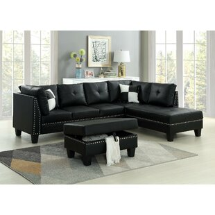 Farview Sectional with Ottoman by Red Barrel Studio