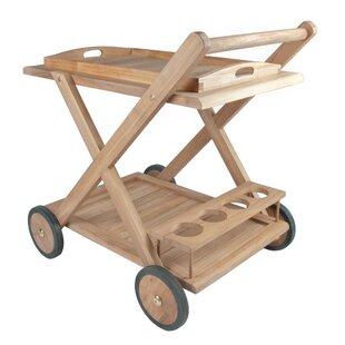 Teak Serving Cart