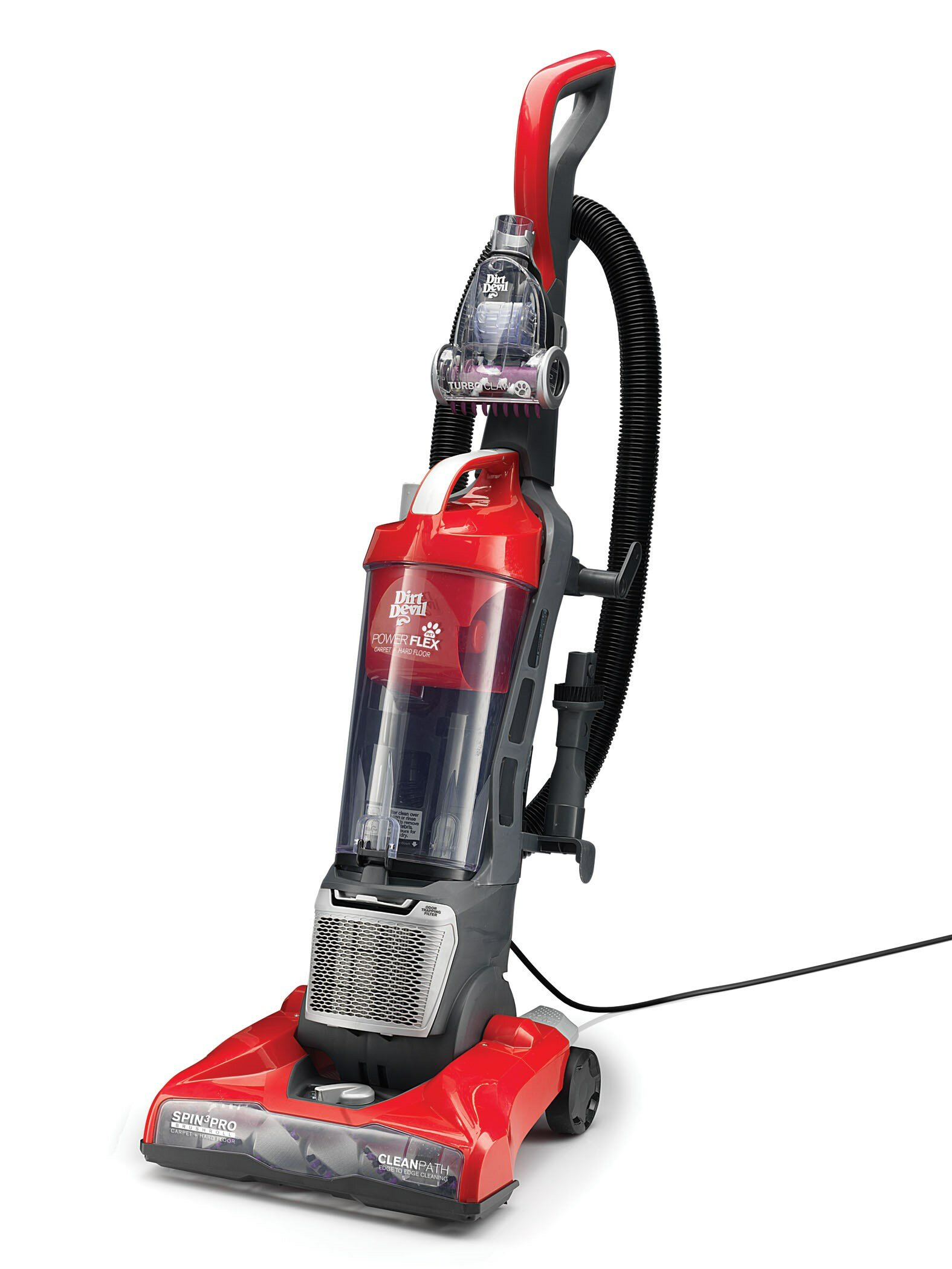 Dirt Devil Power Flex Pet Bagless Upright Vacuum Reviews Wayfair