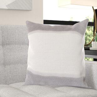 Selena Double Dip 100% Linen Throw Pillow Cover