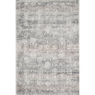Bargain Amara Handwoven Gray/Off-White Area Rug By Ophelia & Co.