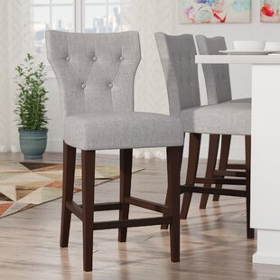 Latitude Run Celeste 26 Bar Stool