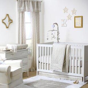 Reviews All that Glitters Confetti 4 Piece Crib Bedding Set ByThe Peanut Shell