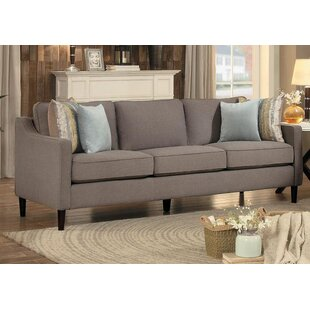 Leal Wooden Frame Upholstered Sofa