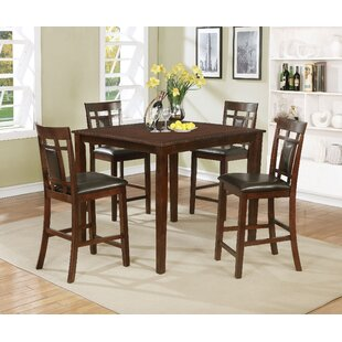 Shirehampton 5 Piece Pub Table Set by Charlton Home