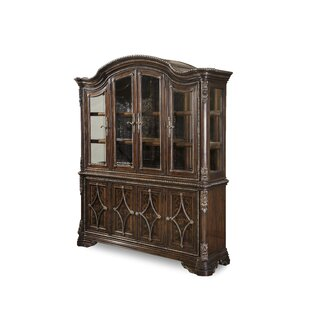 Astoria Grand Hepburn Lighted China Cabinet