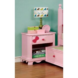 Read Reviews Eiler Youth 1 Drawer Nightstand by Harriet Bee Reviews (2019) & Buyer's Guide