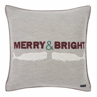 Merry And Bright Throw Pillow by Nautica Spacial Price