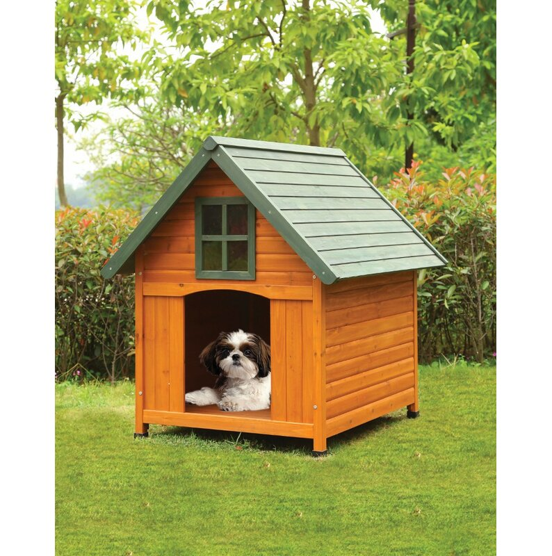Benzara Wooden Dog House Wayfair