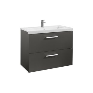 Prisma 79cm Wall Mounted Vanity Unit Base By Roca