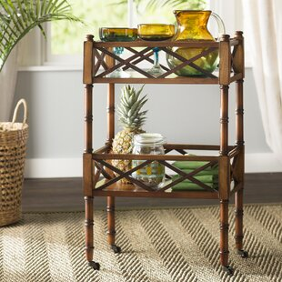 Elia Drink Trolley Serving Cart By Bay Isle Home