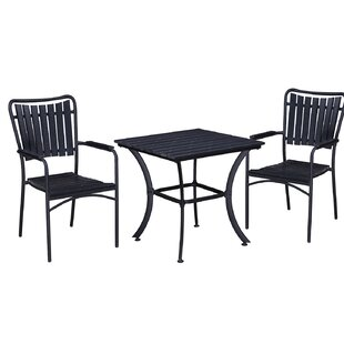 Greenpoint 3 Piece Bistro Set by Highland..