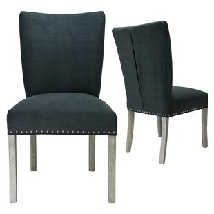 Lechuga Upholstered Dining Chair (Set of 2) Latitude Run