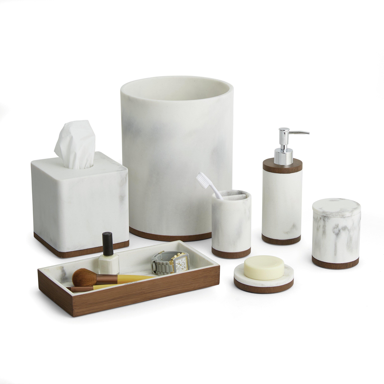Paradigm Trends Icon 7 Piece Bathroom Accessory Set Reviews Wayfair