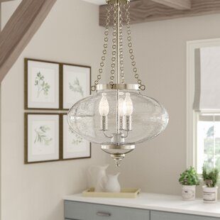 Lark Manor Fortunat 3-Light Urn Pendant
