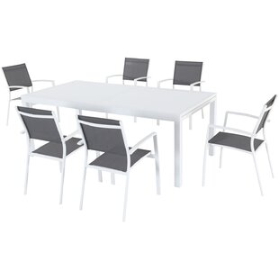 Lebron 7 Piece Patio Dining Set