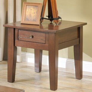 Kenmar End Table by Charlton Home