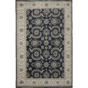 Top Reviews Marilynn Hand-Tufted Black/Beige Area Rug ByDarby Home Co