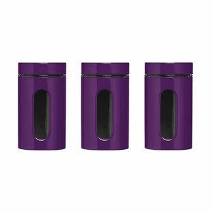 Attractive Purple Kitchen Canisters U0026 Jars