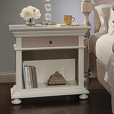 Parkland 3 Drawer Bachelor's Nightstand by One Allium Way