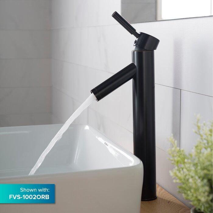 lavabo de salle de bain rectangulaire en céramique pour bateau Elavo