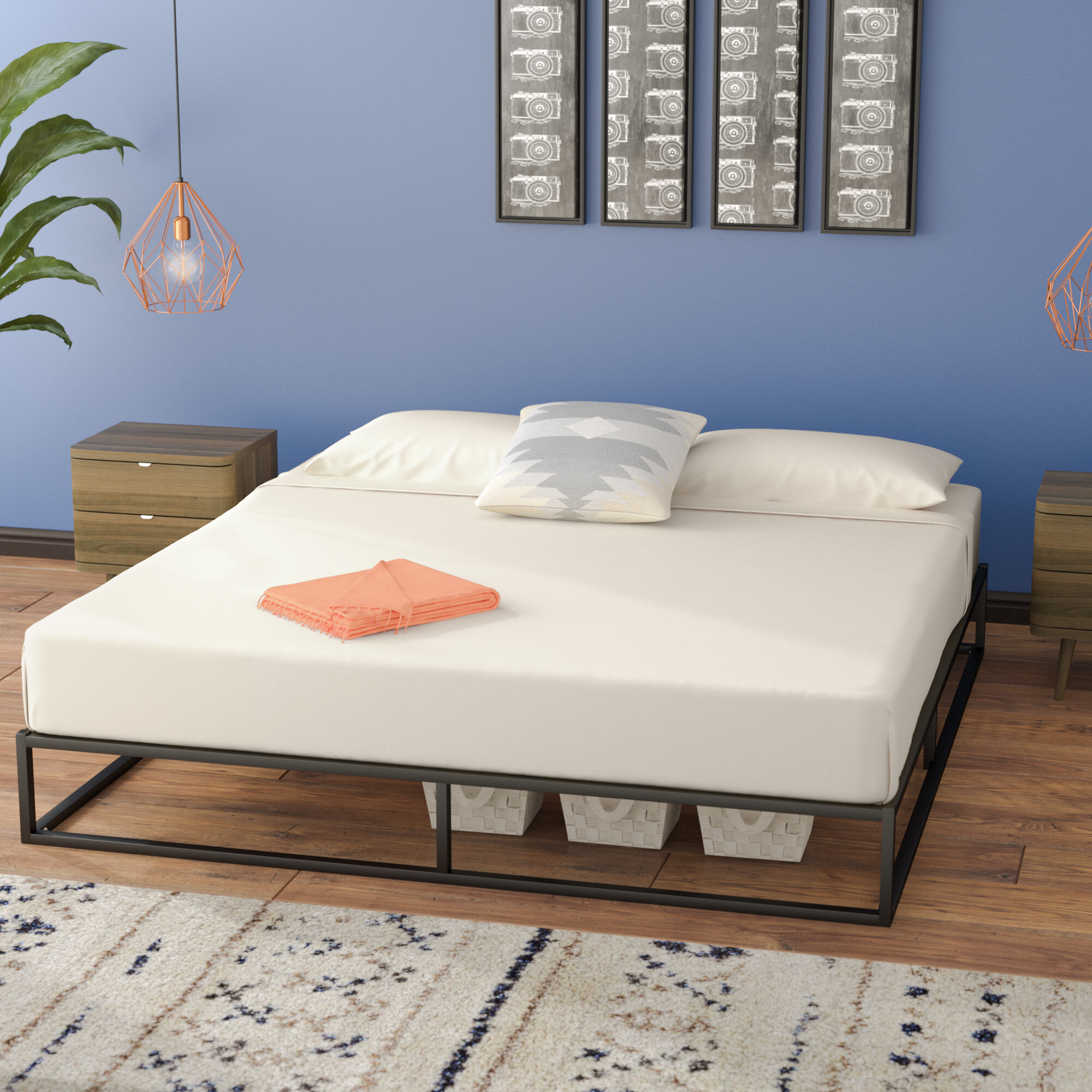 Zipcode Design Cyril Platform Bed U0026 Reviews | Wayfair
