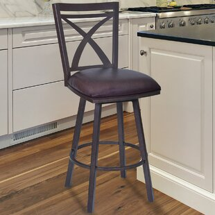 Bonnett Modern 26 Swivel Bar Stool Orren Ellis