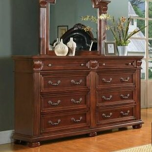 Flair Goldsmith 8 Drawer Double Dresser