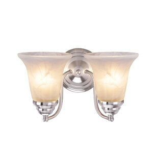 Compare & Buy Berghoff Metal 2-Light Vanity Light By Charlton Home