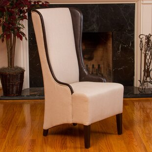 Home Loft Concepts Tinsel High Back Fabric Wing back Chair
