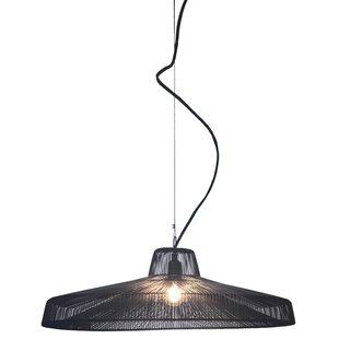 Oggetti Schema Moire Worker 1-Light Pendant