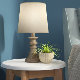 Buy clear Karley Polyresin 15 Table Lamp By Harriet Bee