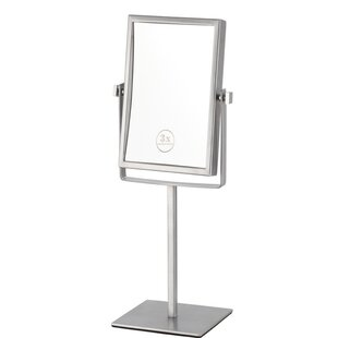 Reviews Free Standing Makeup Mirror ByGlimmer by Nameeks