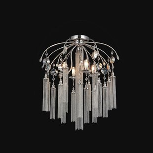 Cierra 7-Light Semi Flush Mount by Rosdorf Park