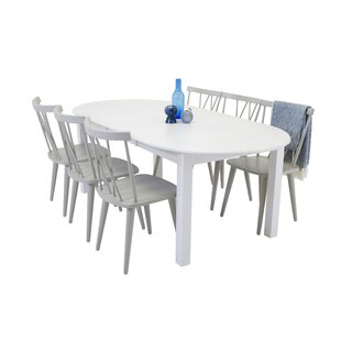 Buy Sale Farmington Extendable Dining Set With 6 Chairs