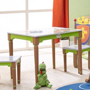 Dusek Kids Rectangular Writing Table By Zoomie Kids