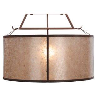 Meyda Tiffany Cilindro Embellir 1-Light Inverted Pendant